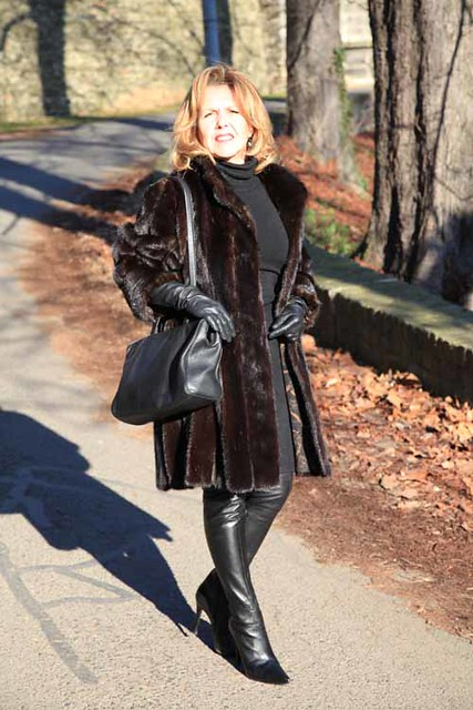 Fur Coat And Leather Gloves Flickr Photo Sharing