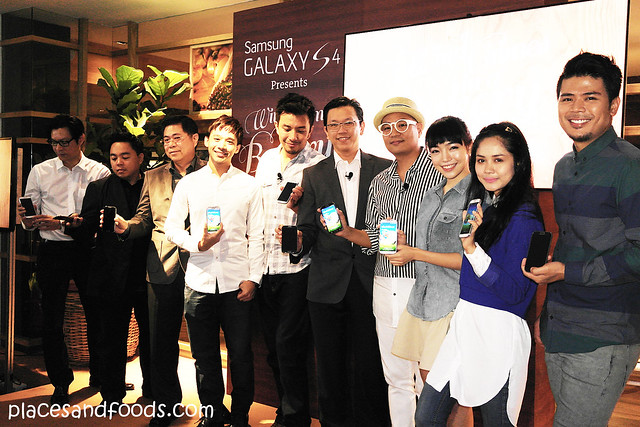wind chimes in a bakery press launch