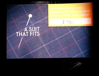 Voucher for £50 at 'a suit that fits'