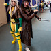 Rogue and Gambit by uncle_shoggoth
