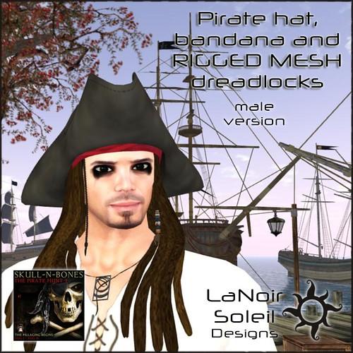 Skull -N- Bones (The Pirate Hunt) male gift
