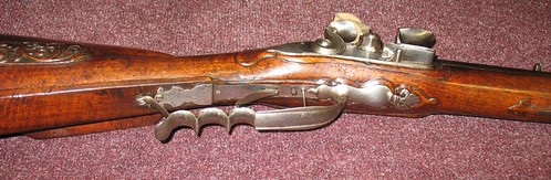 Danish Flintlock Jaeger Rifle