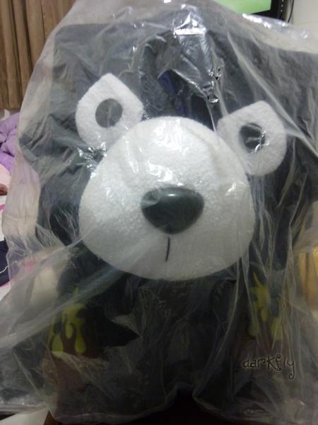 大活力熊玩偶