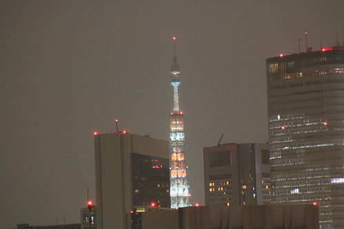 Night Tokyo Tower illumination EOS 70D ISO 400