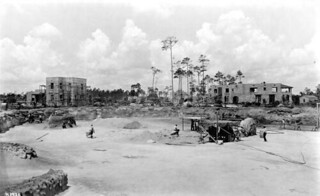 Construction of the Venetian Pool: Coral Gables, Florida