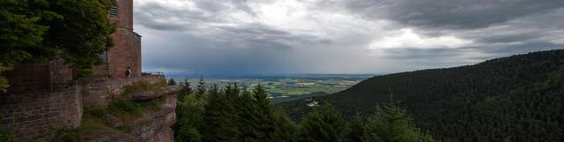 Panorama depuis le Mont Saint Odile