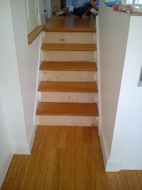 New stairs - before