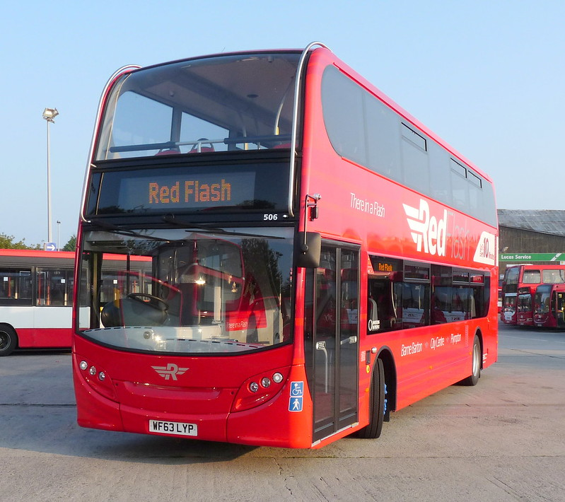 Plymouth Citybus 506 WF63LYP