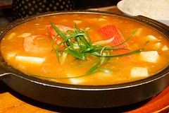 stew, supper, curry, jjigae, kimchi jjigae, sundubu jjigae, red curry, food, dish, broth, soup, cuisine,