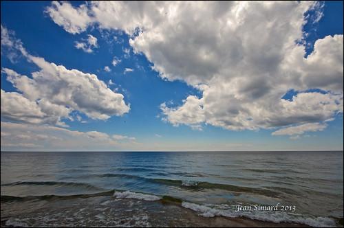 sky ontario clouds lakeontario cobourg