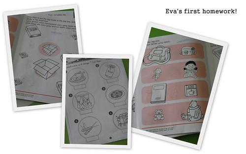 Eva's first homework!