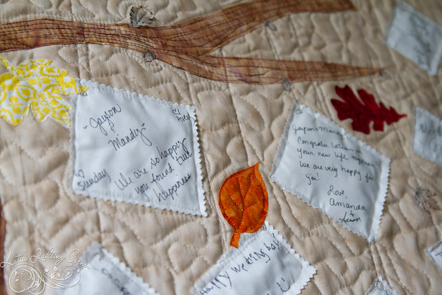 Jay Mandy Wedding Guest Memory Quilt