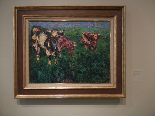 DSCN7885 _ Cows in the Lowland,1909, Emil Nolde (1867-1956), LACMA
