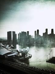 A random stark evening look at my city. #singapore
