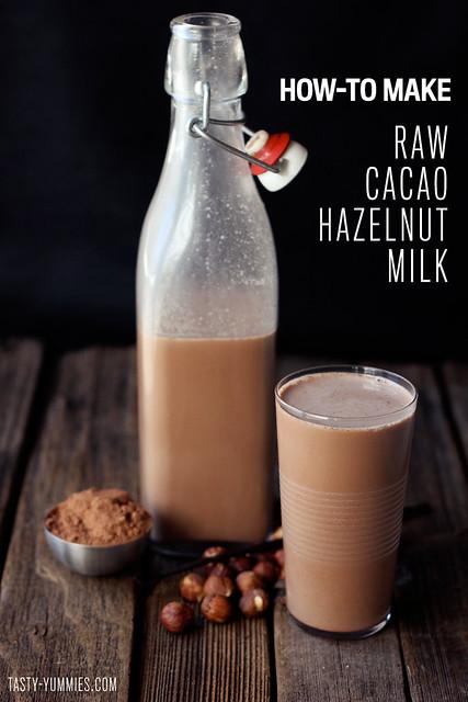 How-to Make Raw Cacao Hazelnut Milk