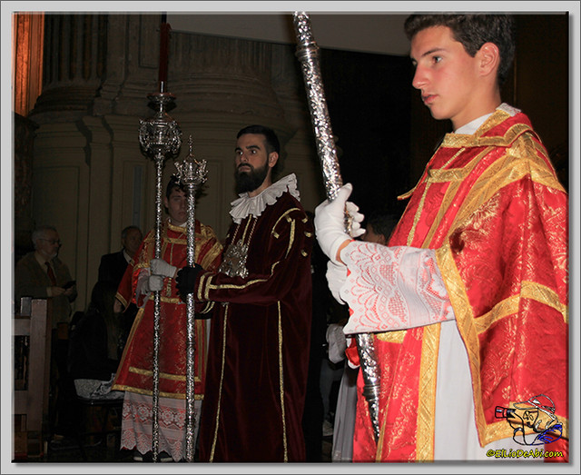 Semana Santa en Málaga. Cofradia de Viñeros (13)