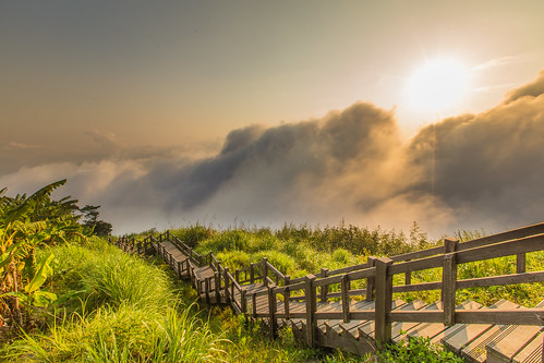 sunset 夕陽 日落 嘉義 雲海 隙頂 ef1635mm 阿里山國家公園