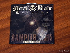 "Record Store Day - Various Artists' ""Metal Blade Sampler"""