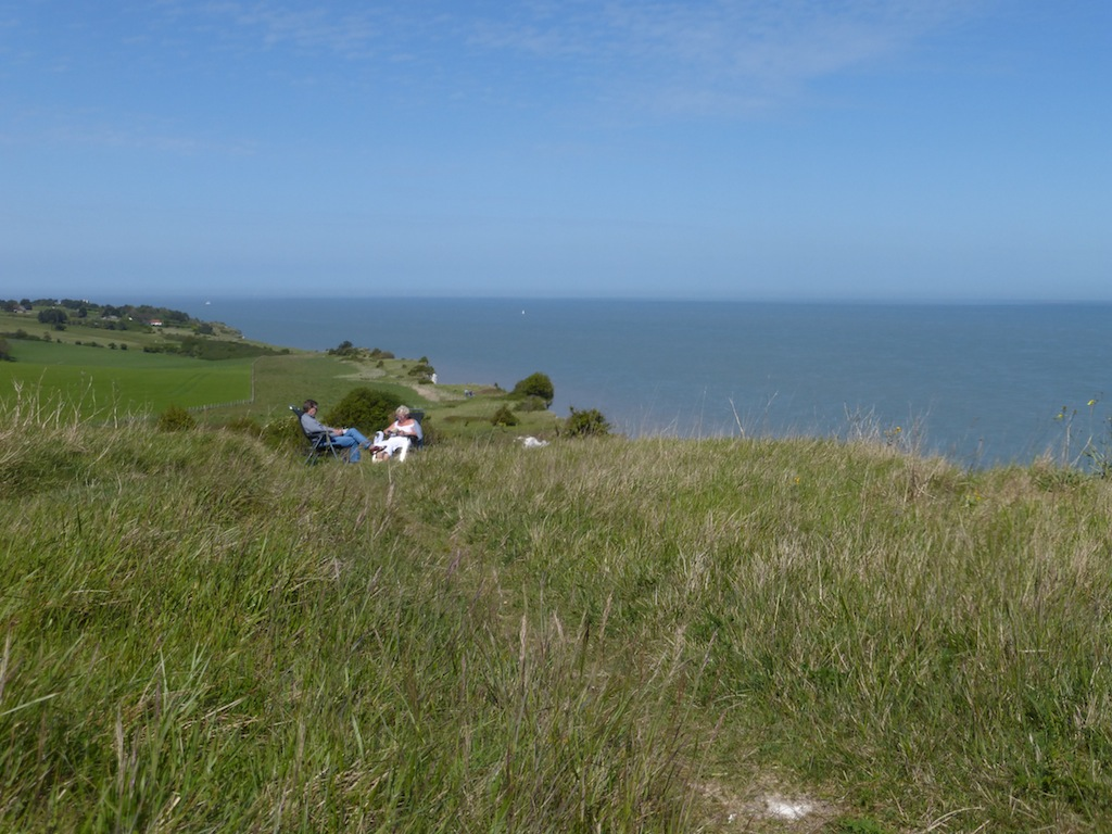 Just beyond St Margaret's Bay Dover to Deal walk