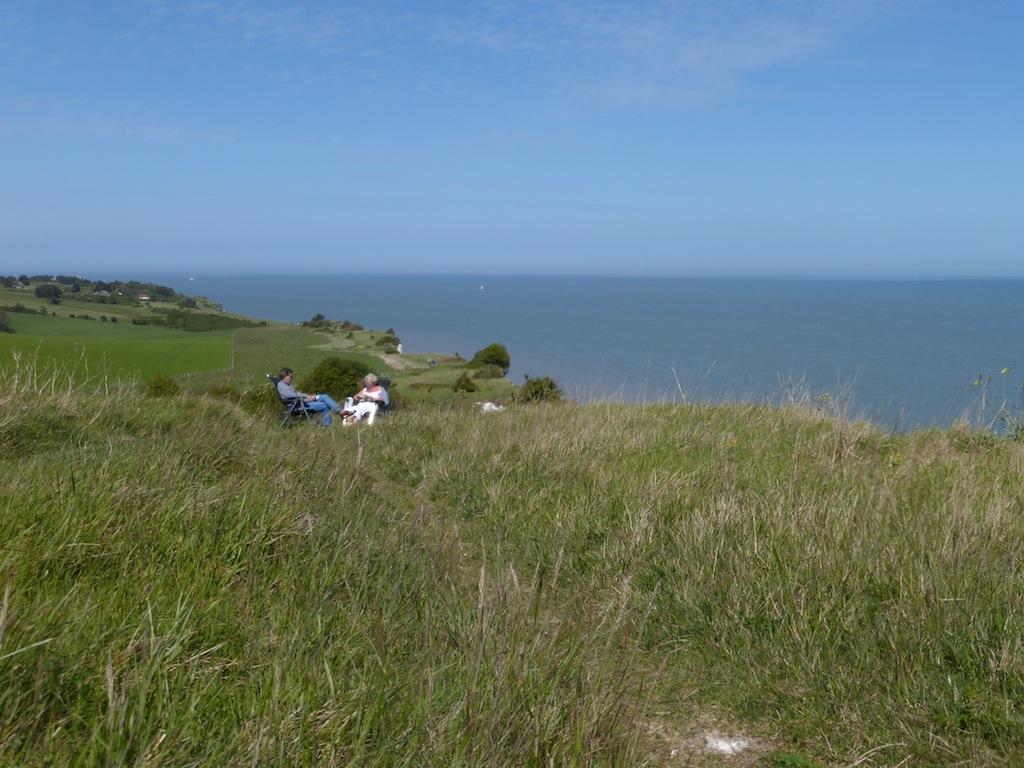 Just beyond St Margaret's Bay Dover to Deal walk