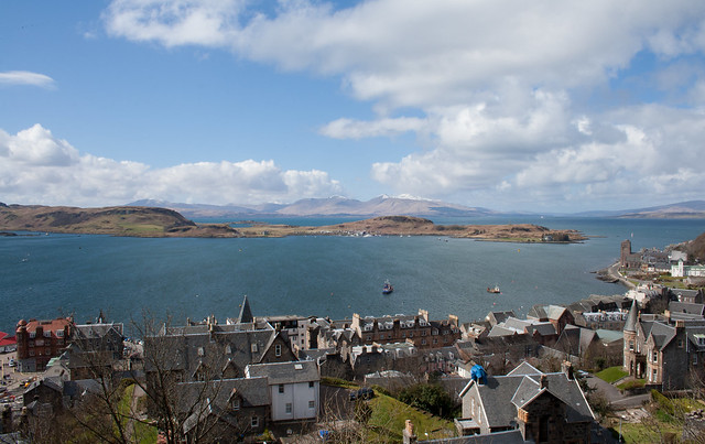 Oban from Strone Hill