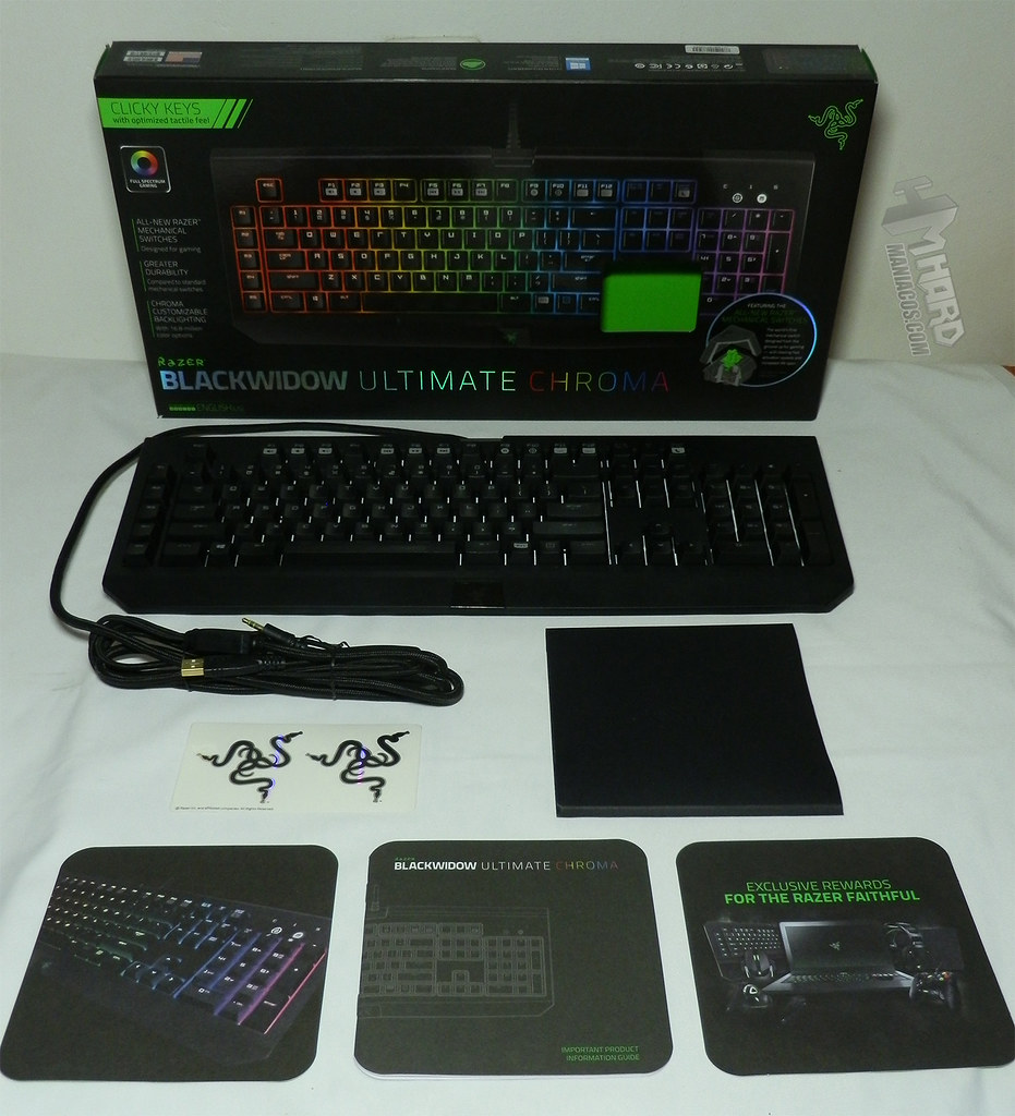 how to clean a razer blackwidow chroma