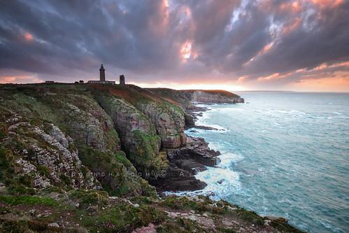 sunset lighthouse france bretagne cliffs cap lee farol phare cotes britany 1635 capfrehel nikond800 fredconcha