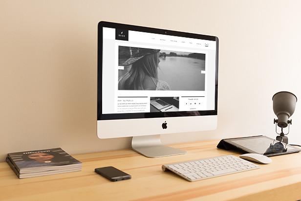 Thor - Creative portfolio HTML5 Website Template - 5