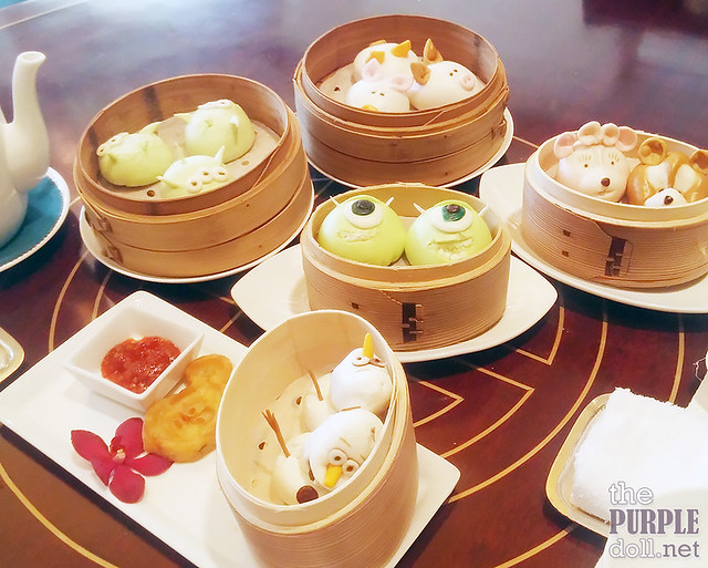 Disney Signature Dim Sum at Crystal Jade Lotus