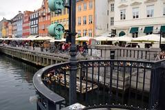 Love lock in Nyhavn