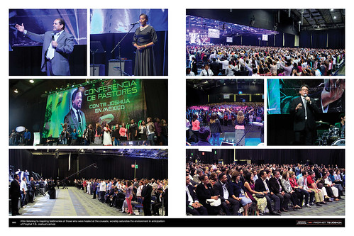 After listening to inspiring testimonies of those who were healed at the crusade, worship saturates the environment in anticipation of Prophet T.B. Joshua's arrival.
