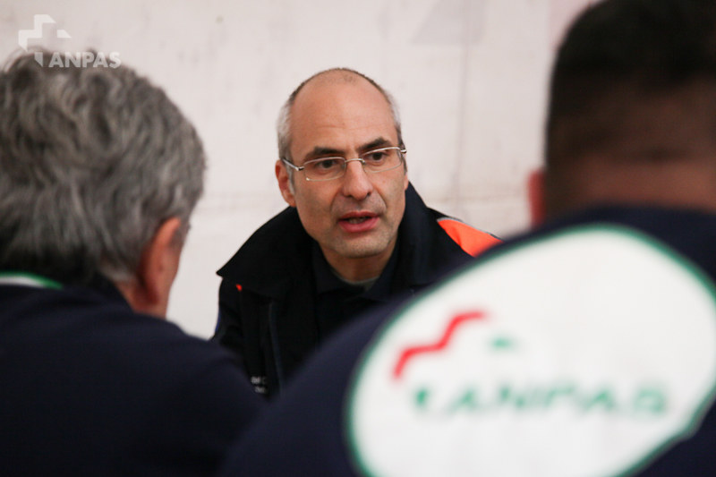 Fabrizio Curcio, capo dipartimento Dipartimento Protezione Civile al #meetanpas