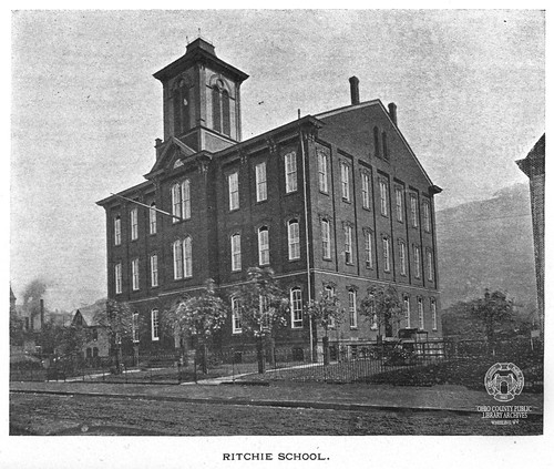 Ritchie School, 1901 | From the 1898 Wheeling City ...