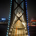 A Night on a Bridge by Thomas Hawk