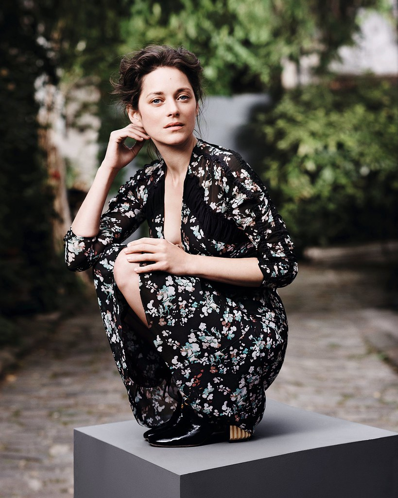 Марион Котийяр — Фотосессия для «Dior» 2016 – 3