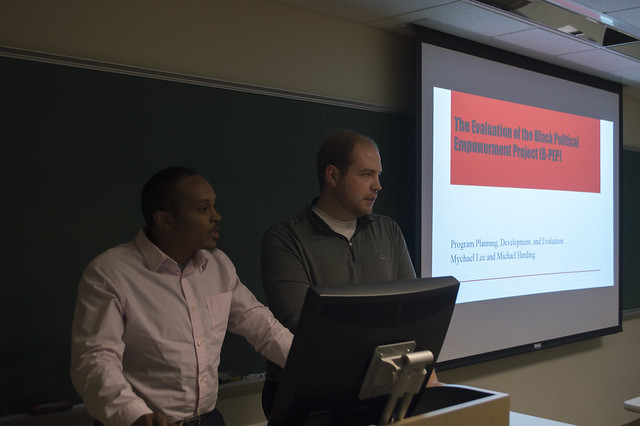 Ph.D. Student Presentations for the POISE Foundation