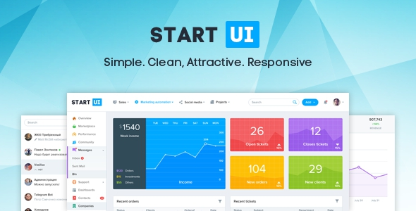 StartUI v1.1.3 – Premium Bootstrap 4 Admin Dashboard Template