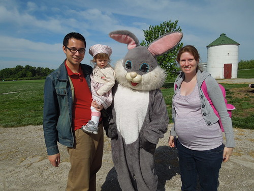 Easter Family at the Farm