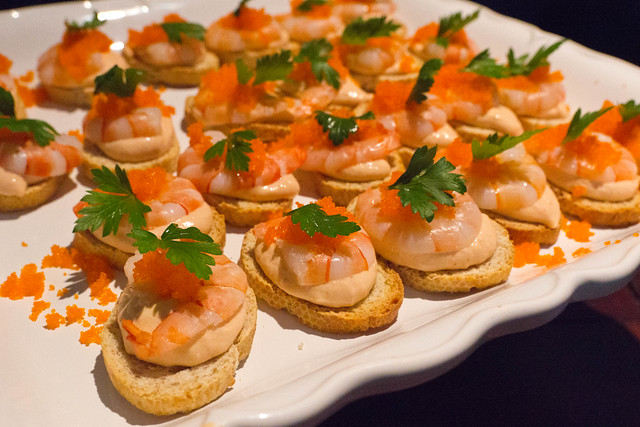 First course canap s a l amiral flickr photo sharing for Canape hors d oeuvres