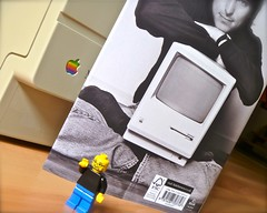 Lego Steve Jobs and Biography by MAC2214JV
