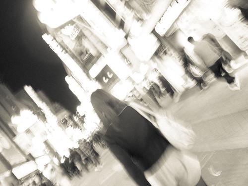 Drifting around shibuya city