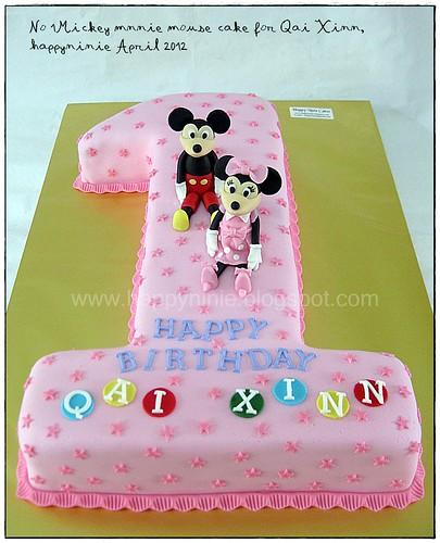qai xinn birthday cake