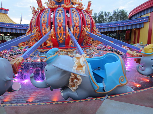 Dumbo Ride Vehicle