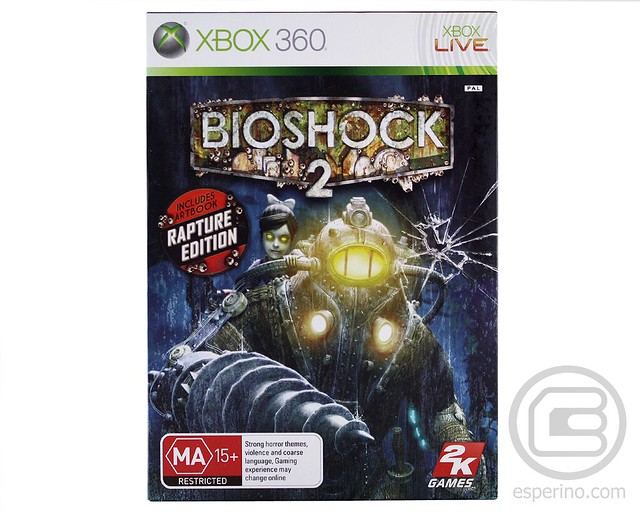 Bioshock 2 Rapture Edition Unboxing