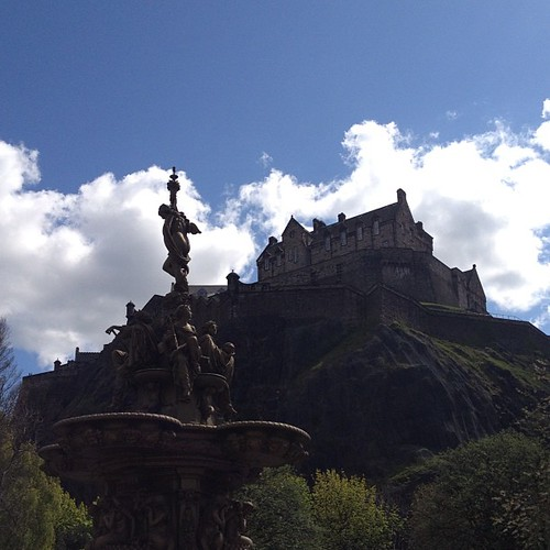 Lovely day to be in Edinburgh.