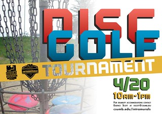 Intramural 2012 Disc Golf Tourney