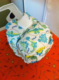 Medium pocket diaper