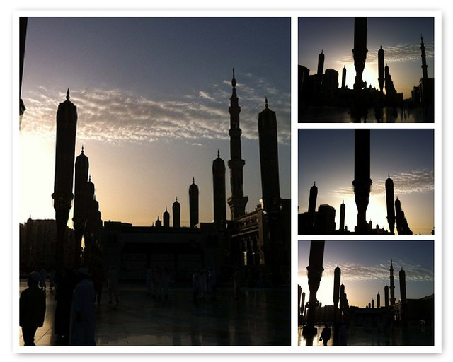 Sunrise at Masjid Nabawi
