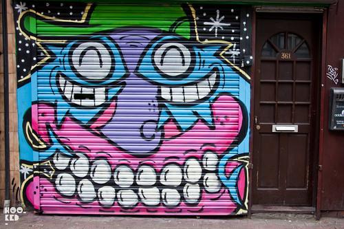 PEZ & Sweet Toof London Street Art Shutter