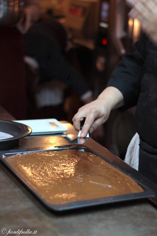Preparando la Torta Tenerella
